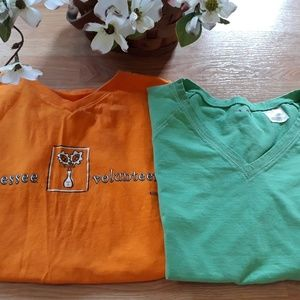Tops - 2 women's shirts size L